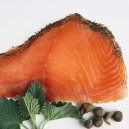 Cold Smoked Organic Norwegian Salmon: Gravalox (Dill) 4 oz.