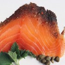 Cold Smoked Organic Norwegian Salmon: Pepper 4 oz.