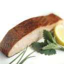 Hot Smoked Organic Norwegian Salmon: Plain 6 oz.