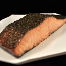 Hot Smoked Organic Norwegian Salmon: Dill 6 oz.